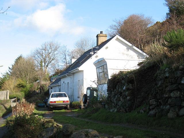 Renovated cottage at Gyrn Goch