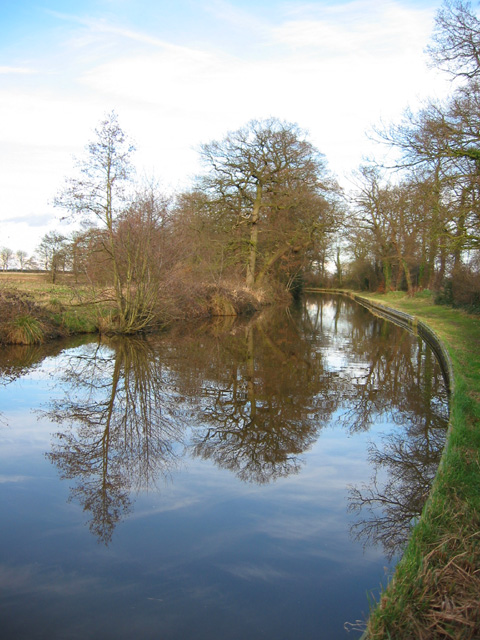 Reflections in the Shropshire Union