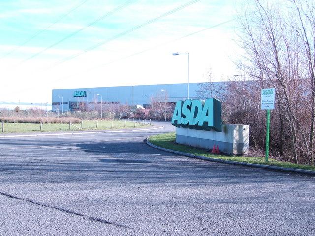 Asda distribution depot, Chepstow