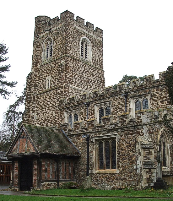 SS Peter & Paul, Flitwick - Tower & Porch