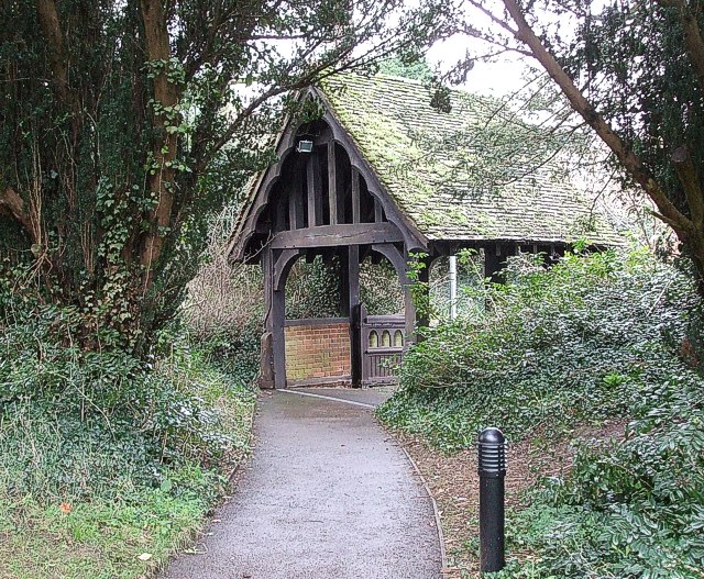Lych Gate, SS Peter & Paul, Flitwick