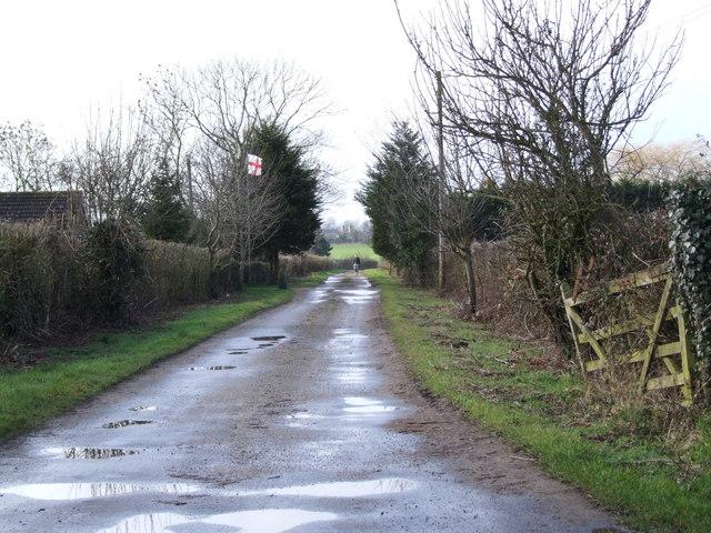 Lane to Common Farm