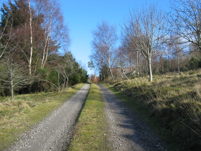 Track to Craigiewood