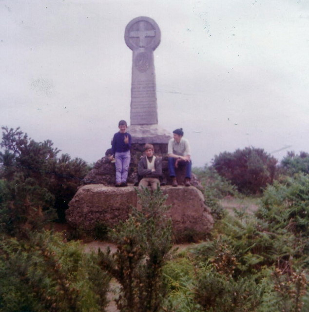 The Monument, Chobham Common, 1972