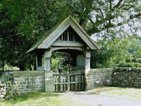 Coverham church lychgate