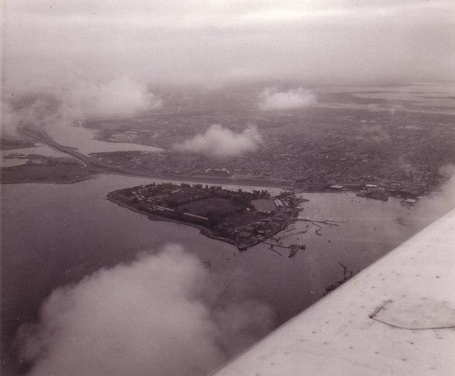 Whale Island, Portsmouth, 1976