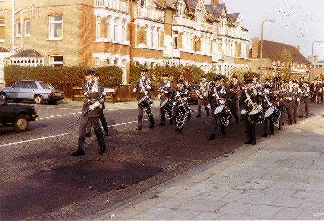 ATC Band in Cross Deep, Twickenham, 1983