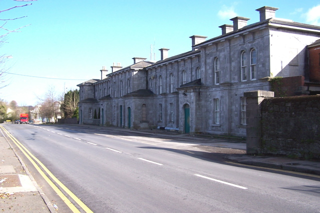 Ex Midland Great Western Railway Station, Athlone, Co. Roscommon, Ireland