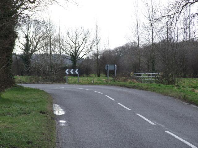 Bend between Silfield and Ashwellthorpe