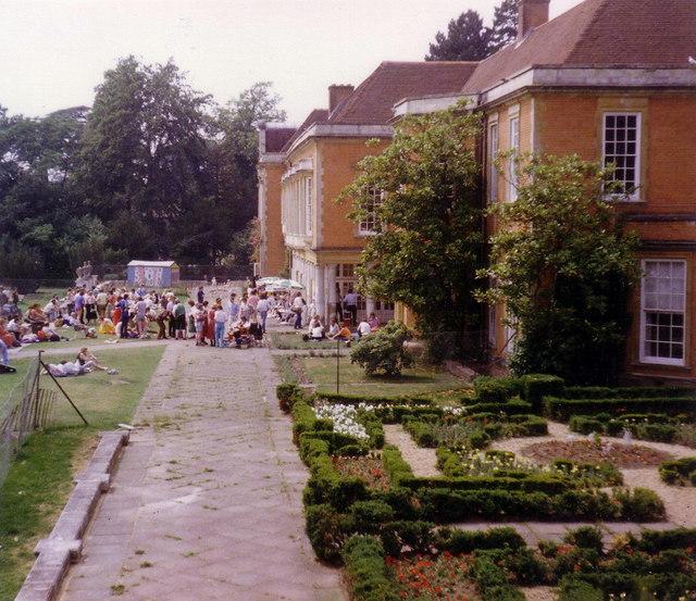 Bracknell Folk Festival, South Hill Park 1986