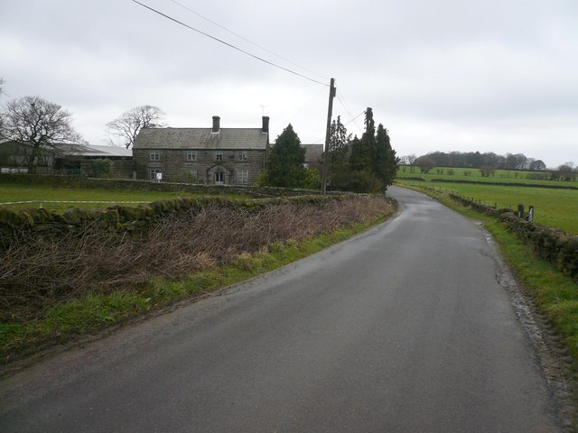 Bassett Barn Farm - Viewed from Bassettbarn Lane