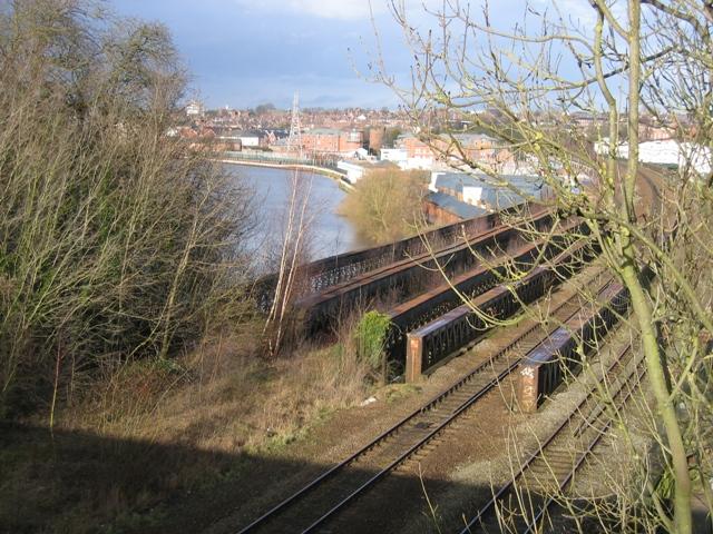 Railway Bridge over the River Dee #2