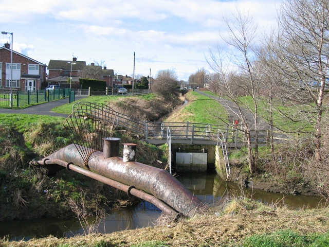 Balderton Brook and Drainage Ditch.