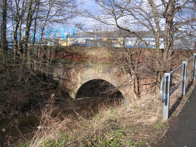 Balderton Brook and Old Sandstone Bridge