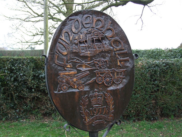 Fundenhall Village Sign