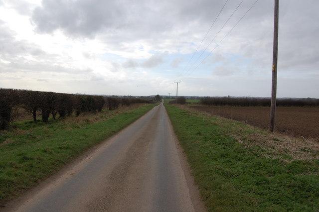 Broad Drove near Grimston
