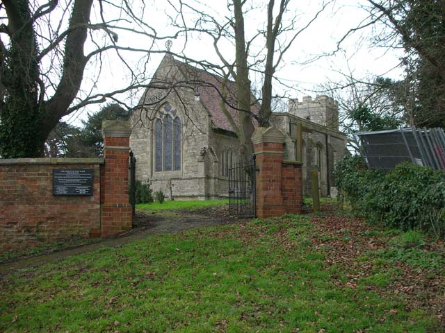 The Church of St Peter, Molesworth