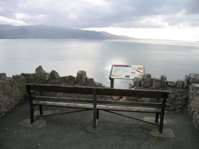 Seat with a View on the Great Orme