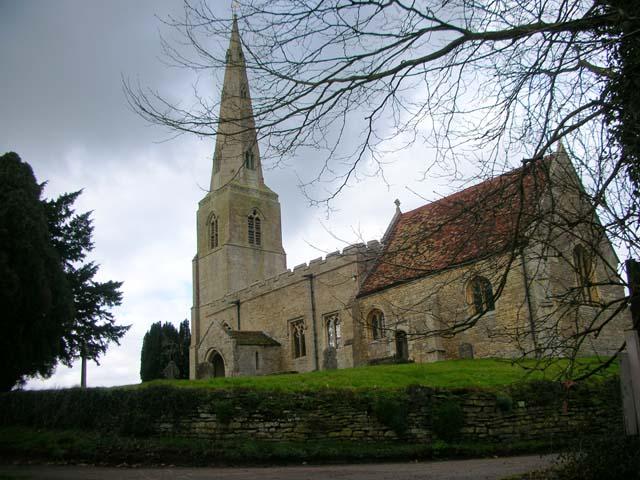 All Saints Church, Brington