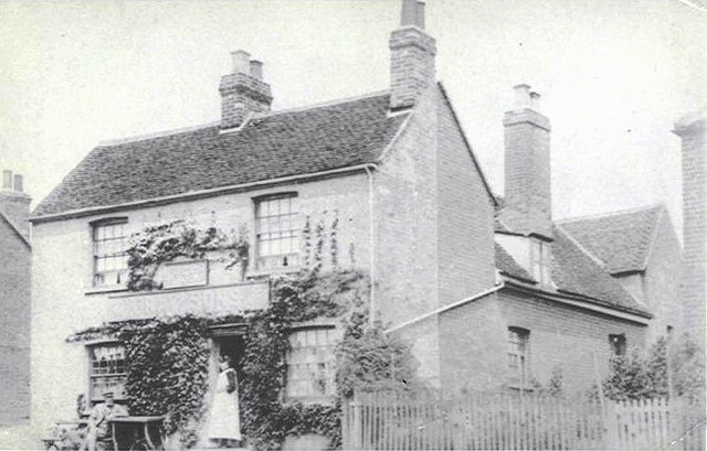 """""""The Black Boy"""" Beer House - Early 20th Century"""