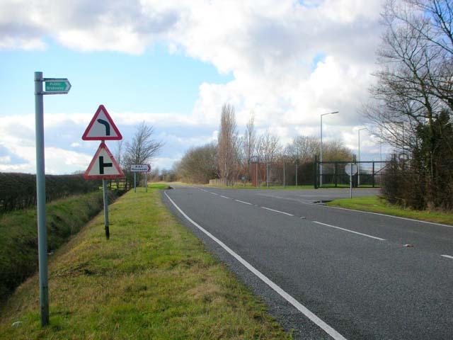 Main entrance, RAF Molesworth
