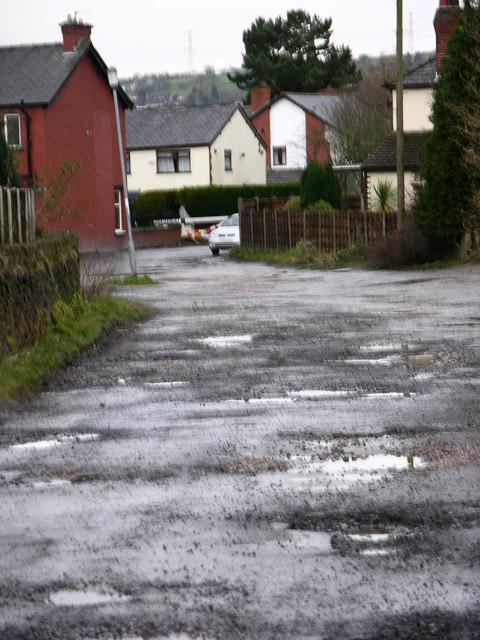 Garden City - unadopted road