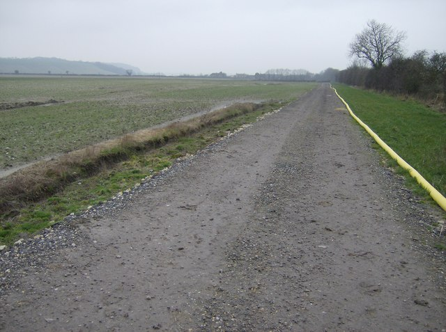 Farm track near Ham
