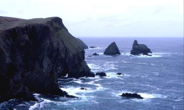 North Cliffs of Fair Isle