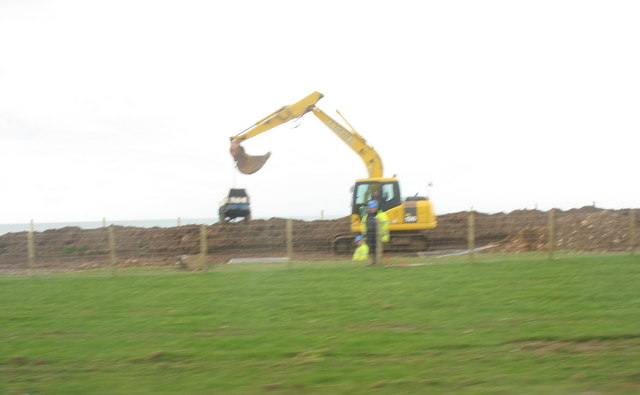 Work progresses on the A499 by-pass