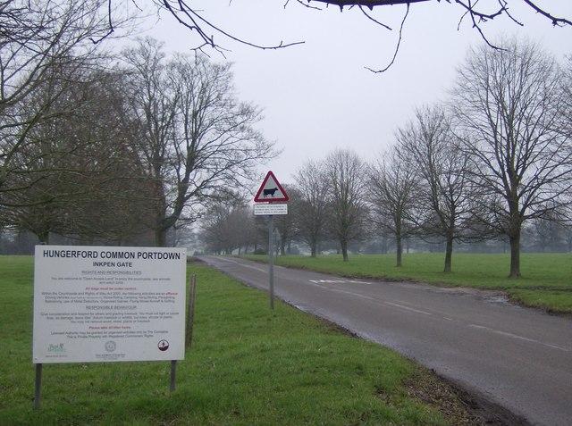 Hungerford Common Inkpen Gate