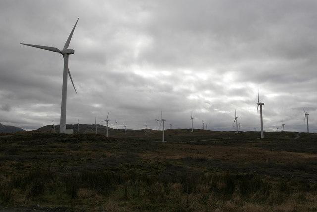 Cruach Mhor wind farm