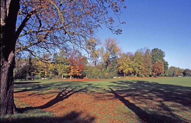 Enfield Town Park in Autumn, Enfield