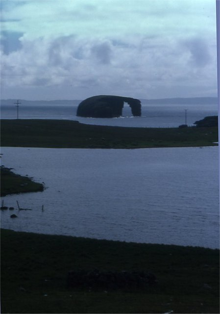West Loch, Eshaness, and Dore Holm