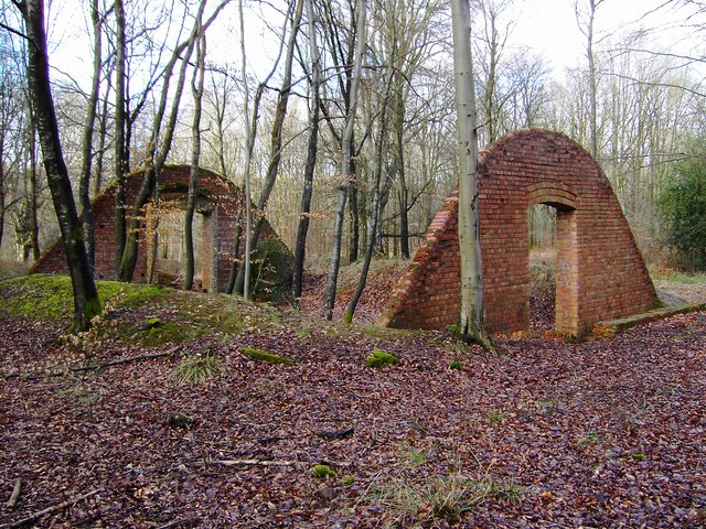 Old ammunition store, Charcoal Burners Road, Savernake (3)