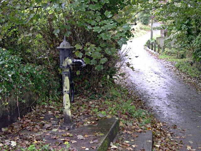 Roadside Pump at Carnbargus
