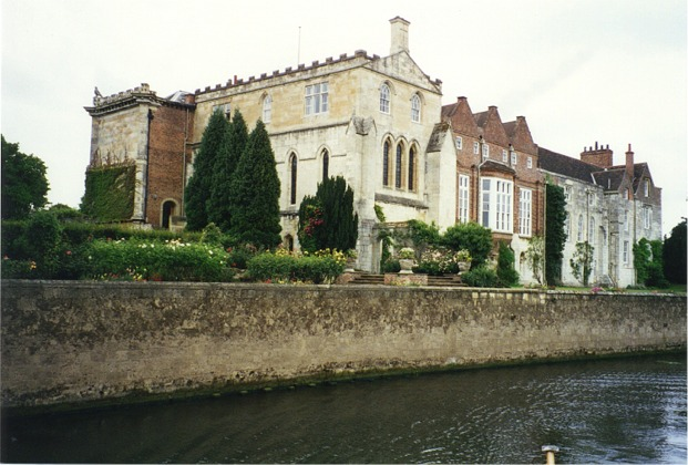 Bishopthorpe Palace viewed from the Ouse