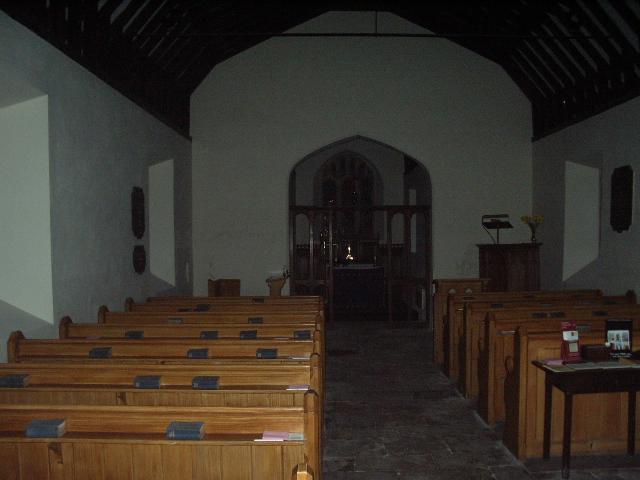 Interior of St James' Church, Hunton