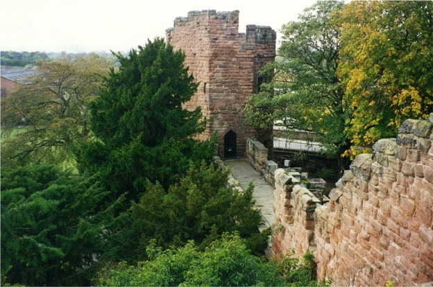 Water tower, City Walls, Chester
