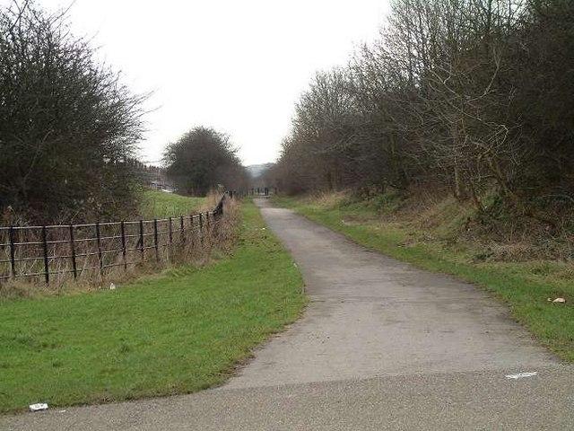 Footpath, Berryhill