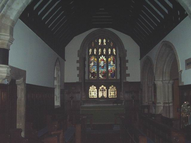 Interior of St Mary's Church, Kings Worthy
