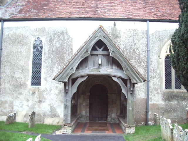 The Porch, Holy Trinity Church, Wonston