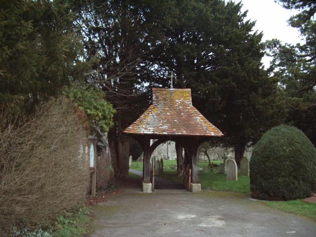 Lychgate, Holy Trinity Church, Wonston