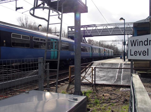 At Cheshunt Station crossing, Herts