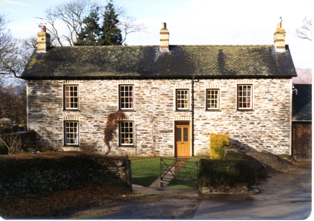 Penrhyngerwyn farmhouse, 1973
