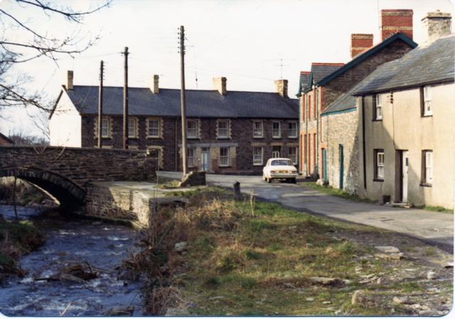 Canol Tre'r ddol/middle part of Tre'r ddol, 1973