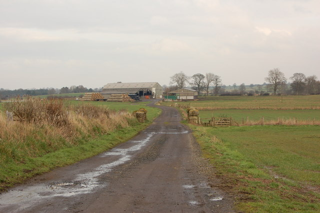 Outbuildings near Thornham Hill Farm