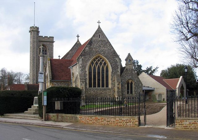 St Mary's Church, Church Street, Welwyn, Herts