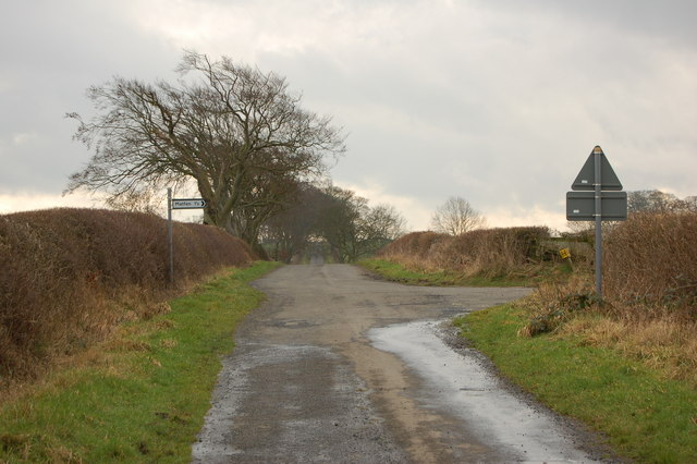 T Junction South East of East Matfen