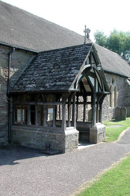 St Michael & All Angels, Ewyas Harold, Heref - Porch