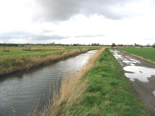 Looking NW along the North Stream